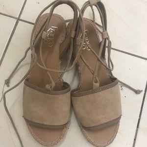 Franco sarto cute lace up sandals